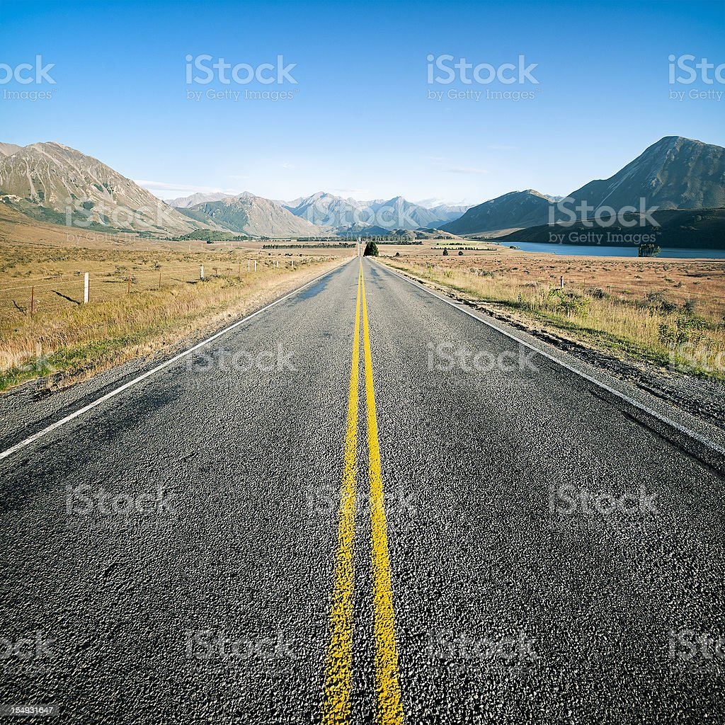 Into the Wide Open royalty-free stock photo