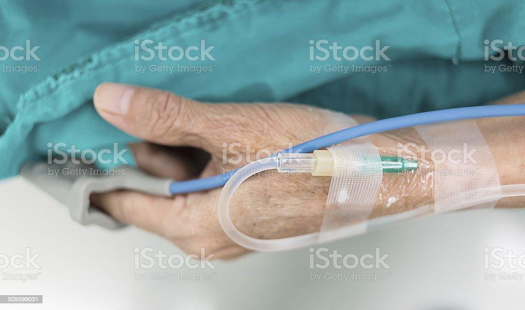 intravenous fluid stock photo