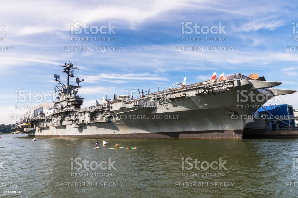 USS Intrepid (The Fighting I) stock photo