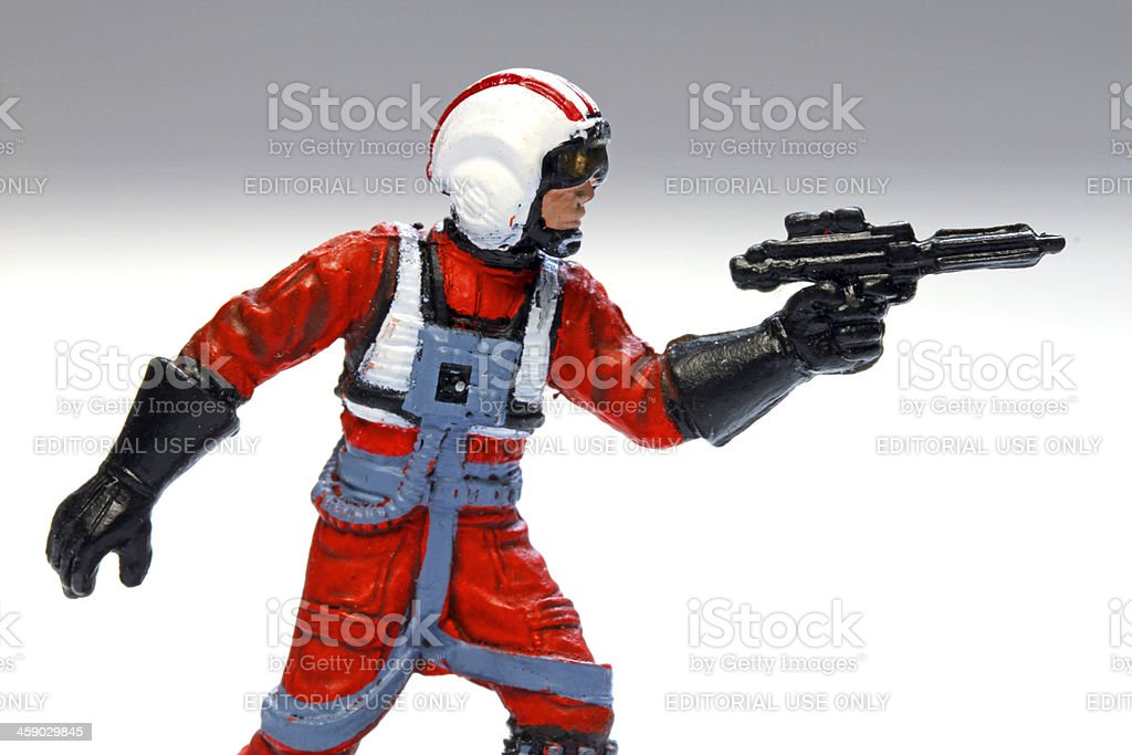 Intrepid Pilot royalty-free stock photo