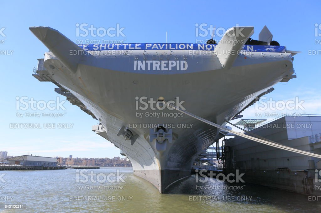 Intrepid Sea, Air & Space Museum stock photo