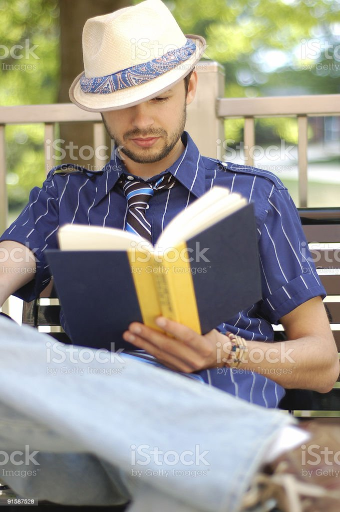 Intresting Book stock photo