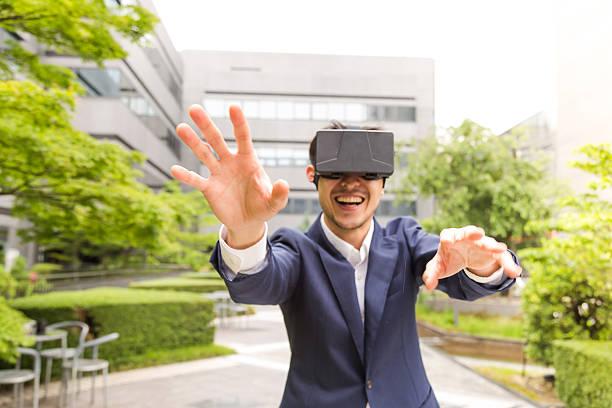Intresting Console de realidade Virtual, vamos conhecer o novo mundo! - foto de acervo