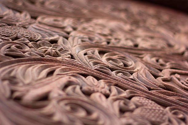 intricate carved wood - intricacy stock pictures, royalty-free photos & images