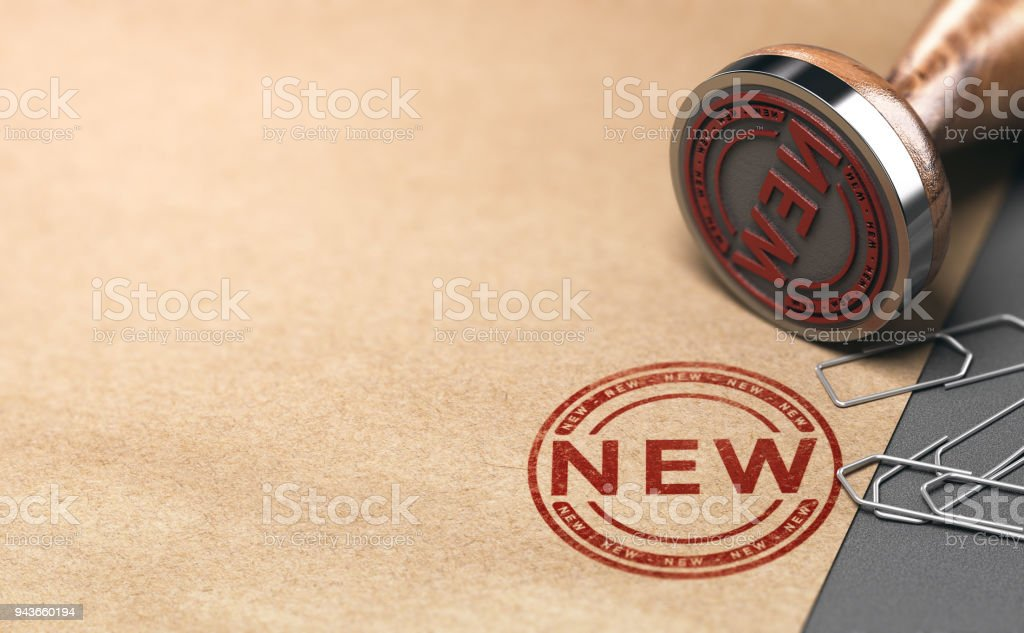 Einführung eines neuen Produkts oder Dienstes, Werbekonzept – Foto