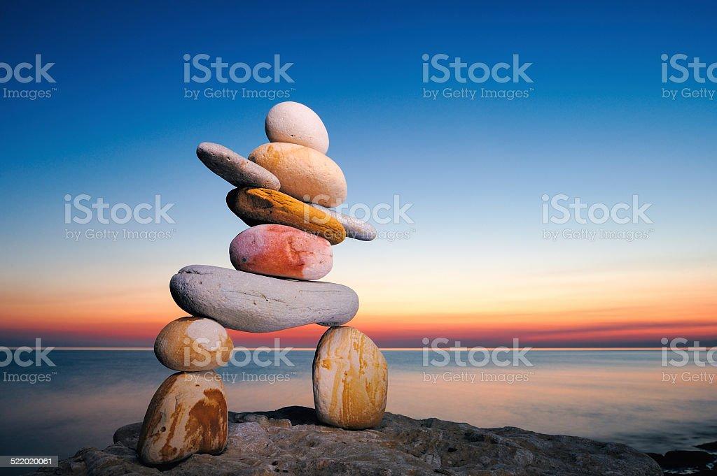Inuit-Steindenkmal – Foto
