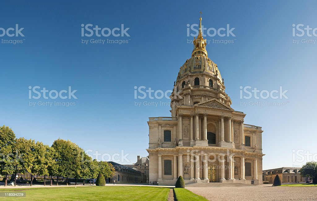Invalides, Paris. stock photo