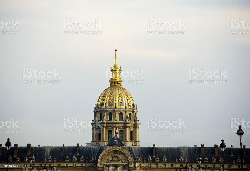 Invalides, Paris. stock photo