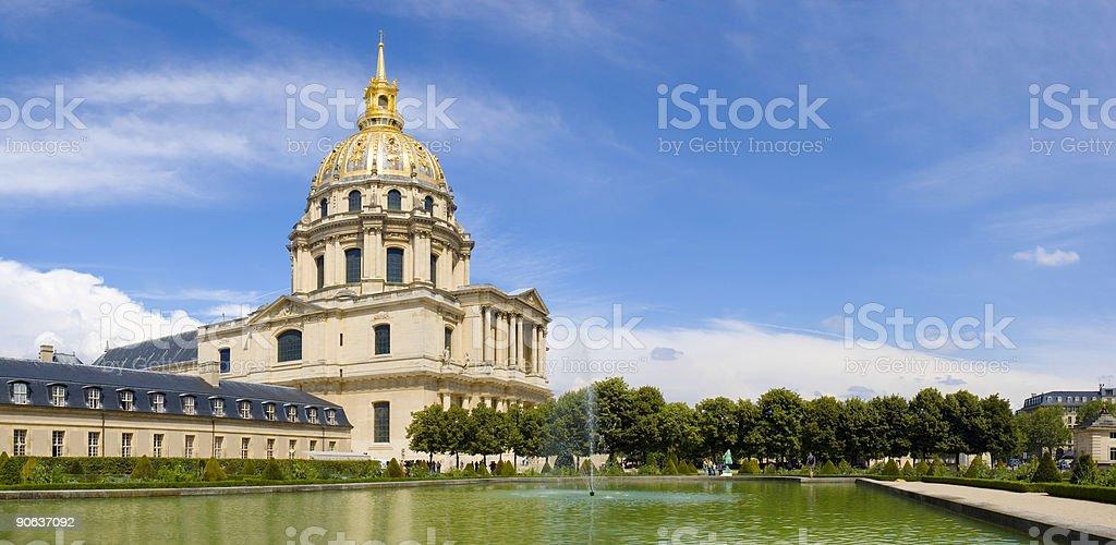 Invalides Paris stock photo