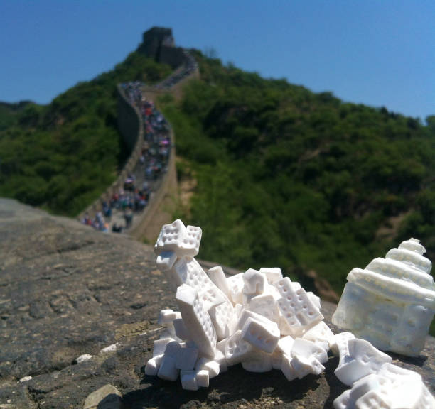 invasion, china - miniature wunderland stock-fotos und bilder