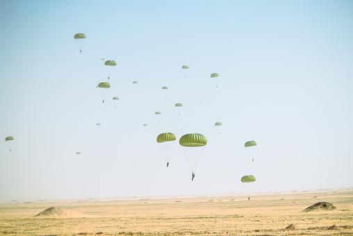 invasion - parachute
