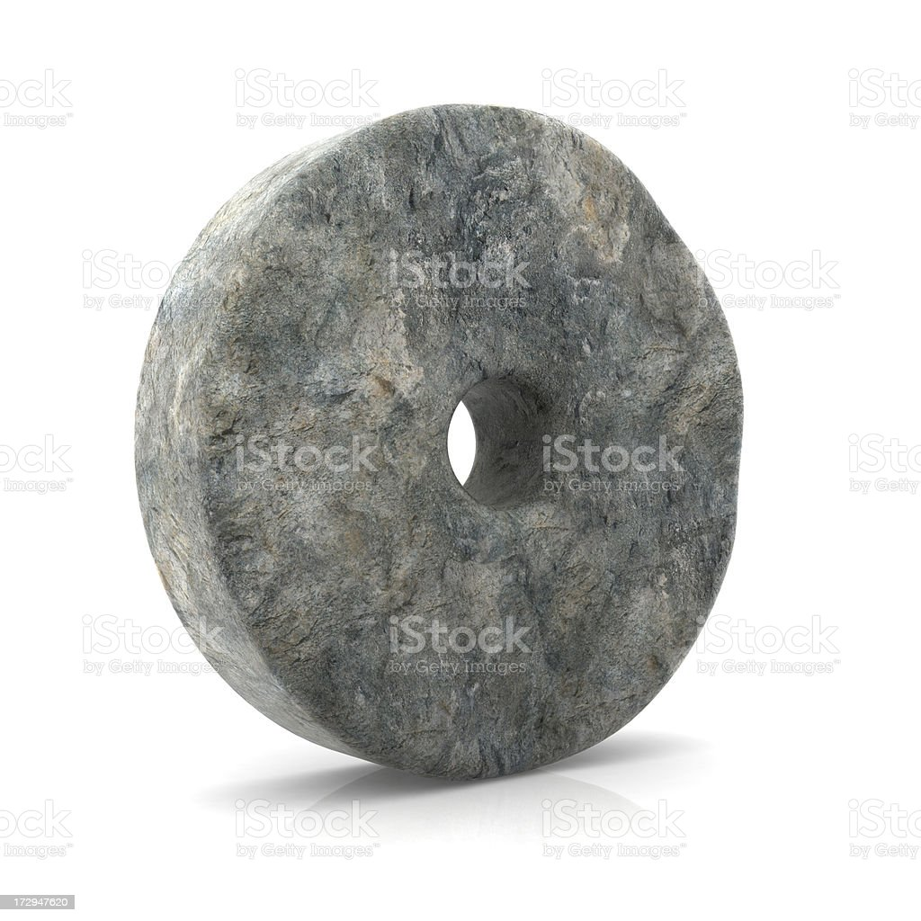 Invention of the Wheel royalty-free stock photo