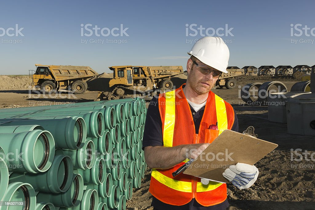 Inventory Check royalty-free stock photo