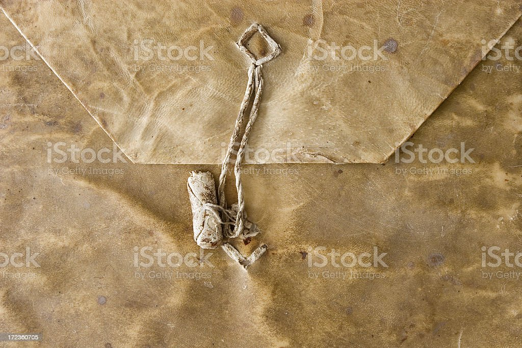 Inventory of the will. stock photo
