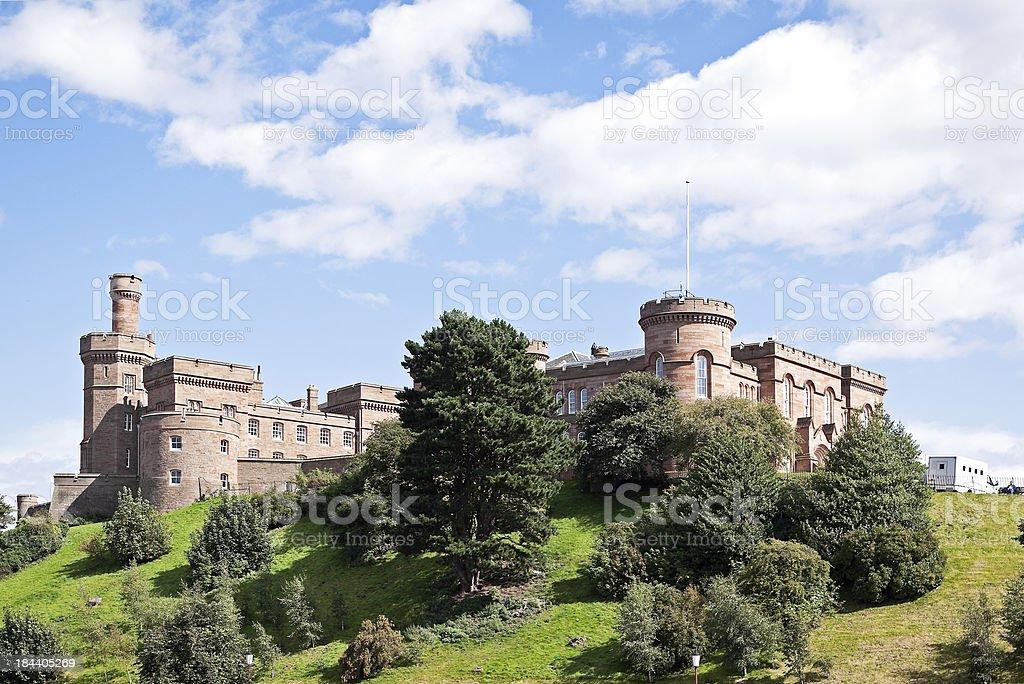 Inverness Castle stock photo