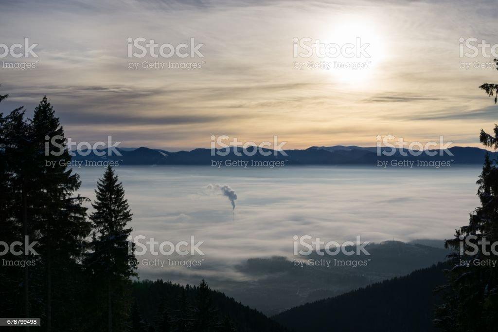 Inversion des montagnes. Slovaquie photo libre de droits