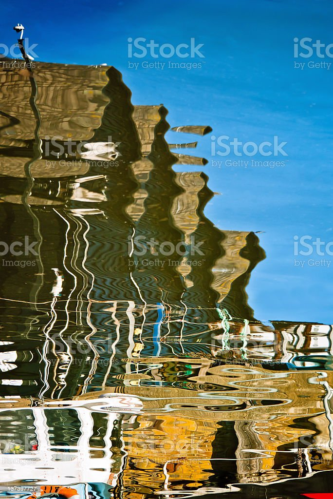 Inverted Reflections royalty-free stock photo