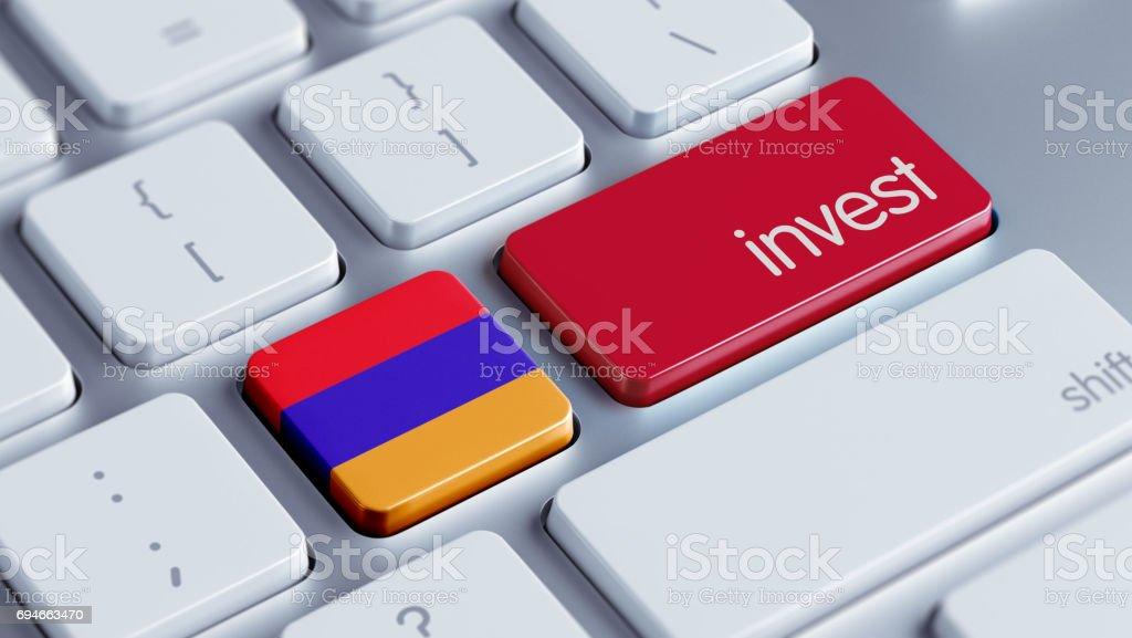 Invest Concept stock photo