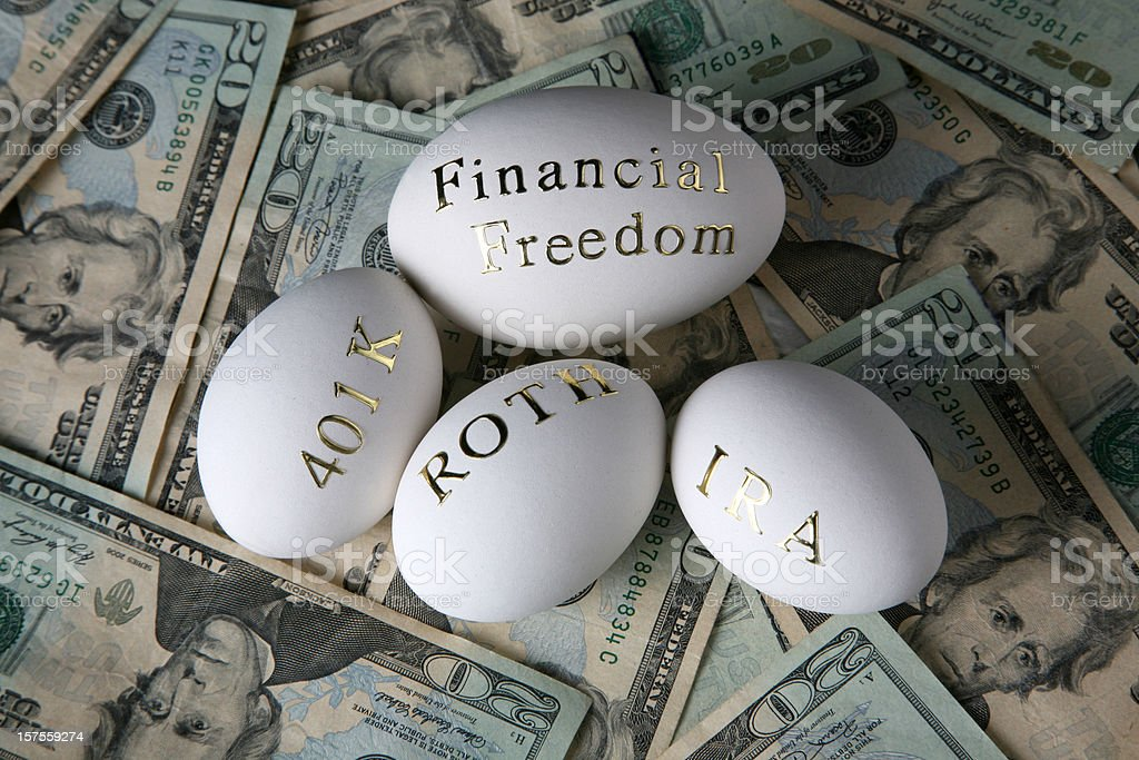 Invest for you financial freedom royalty-free stock photo