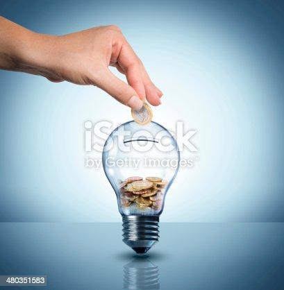 istock invest to energy concept 480351583