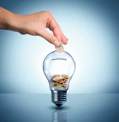 Invest To Energy Concept Stock Photo - Download Image Now