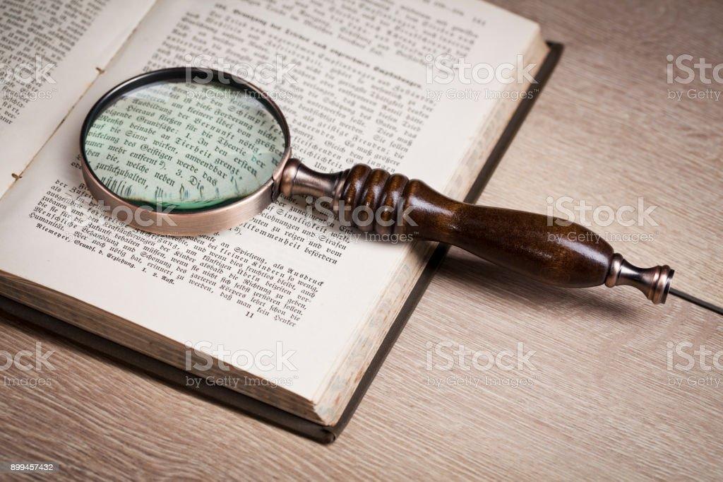 Investigation. Law concept stock photo