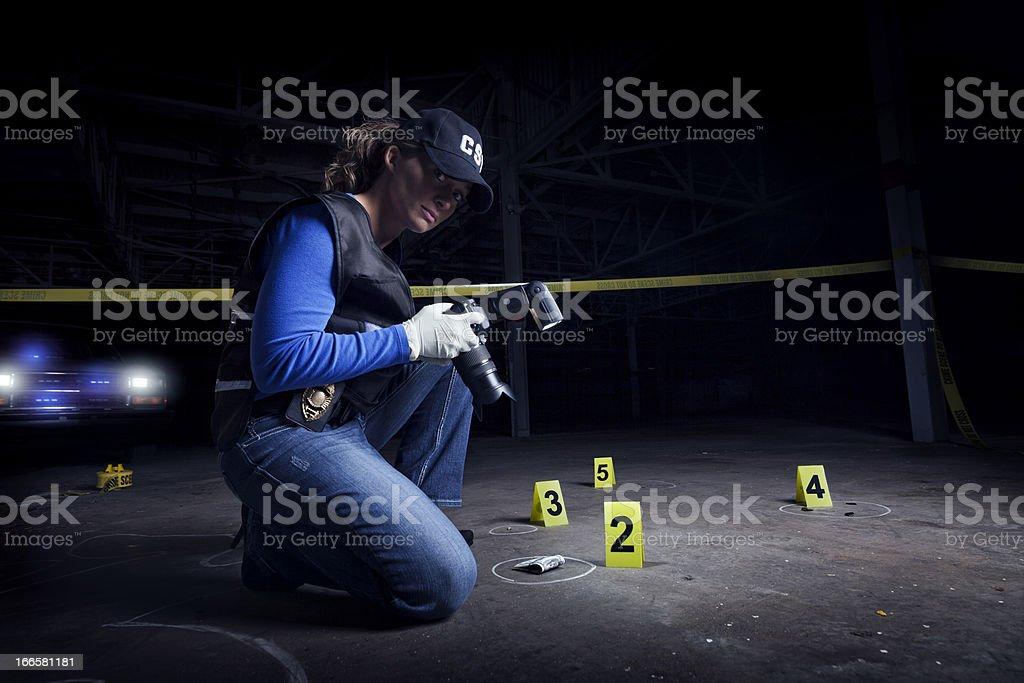 investigation stock photo