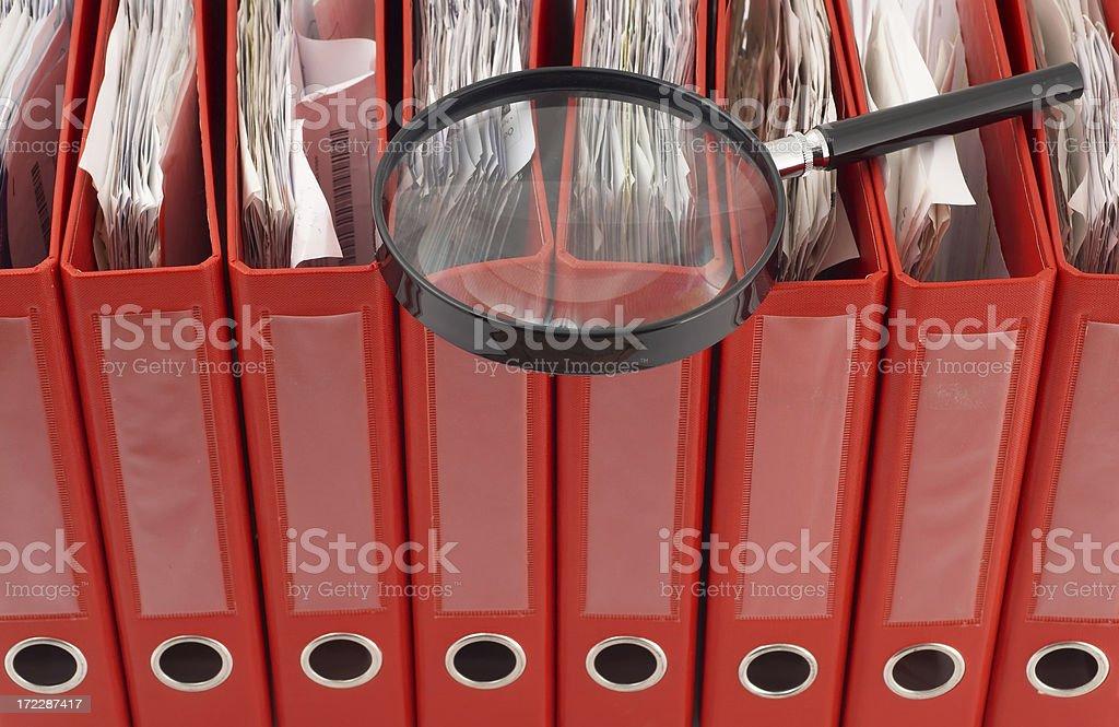 Investigation royalty-free stock photo