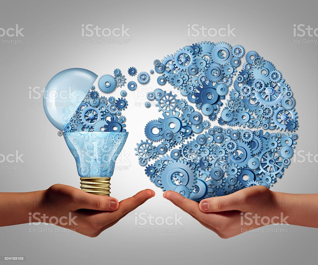 Investing In Ideas stock photo