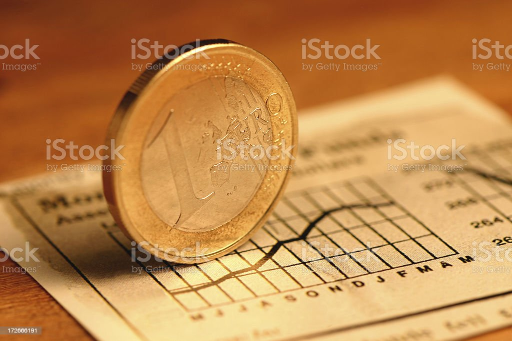 Investing in the Future - Euro royalty-free stock photo