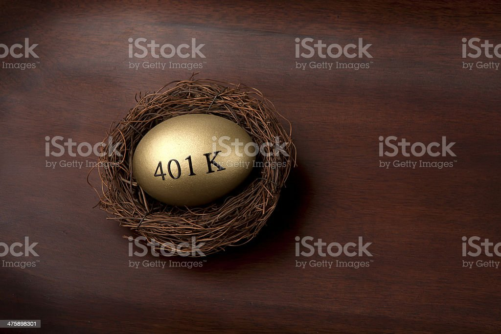 Investing in your retirement royalty-free stock photo