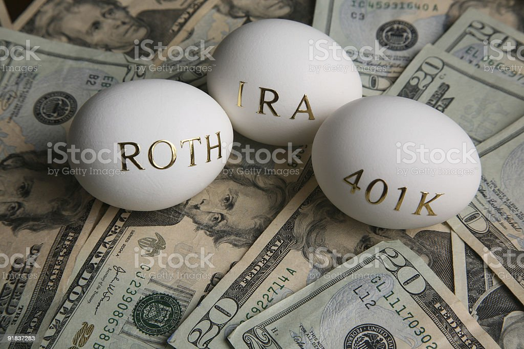 Investing in your retirement stock photo