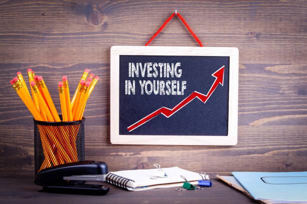 Investieren In sich selbst. Business-Erfolg-Konzept – Foto