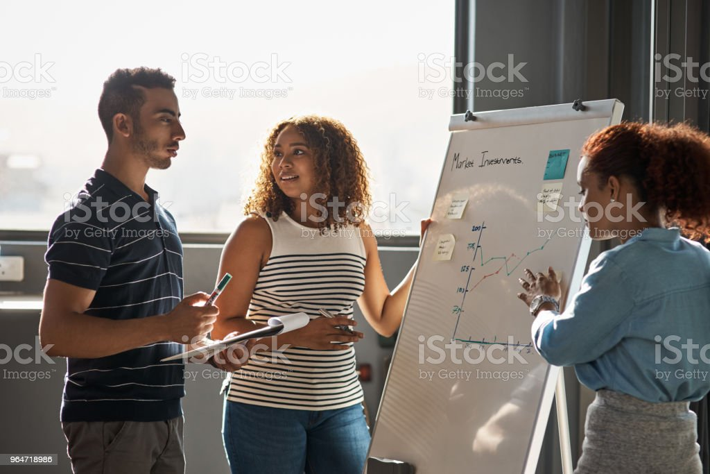 Investing the time to perfect their vision royalty-free stock photo