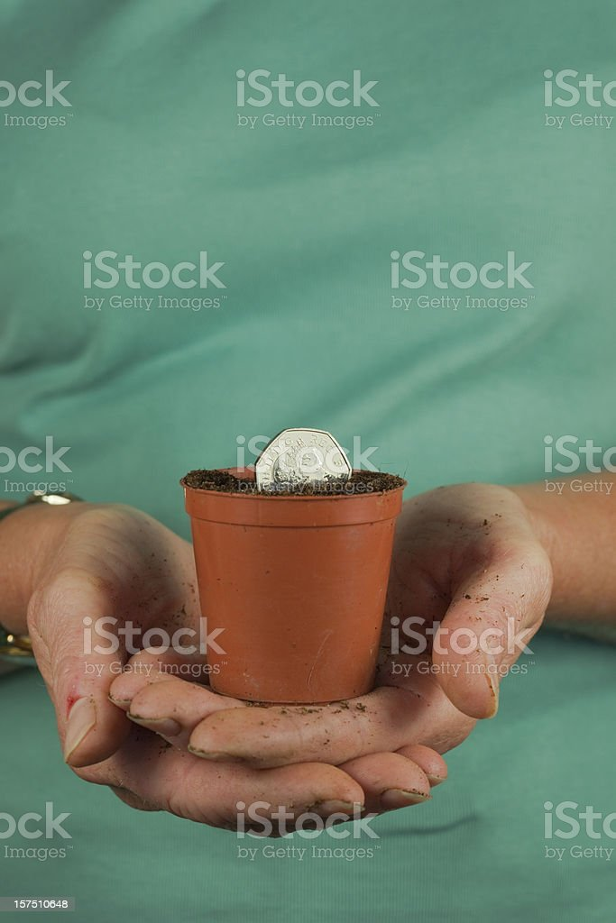 Investment And Growth stock photo