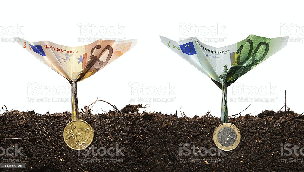 Investment concept 2 royalty-free stock photo
