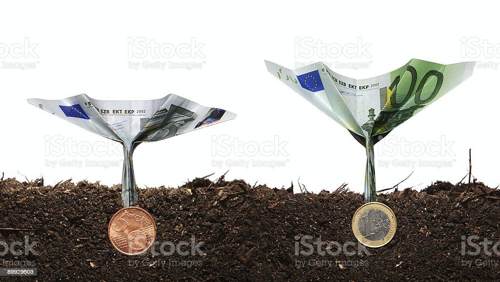 Investment concept 3 royalty-free stock photo