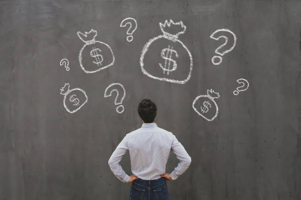 investment concept, money for startup, fundraising stock photo