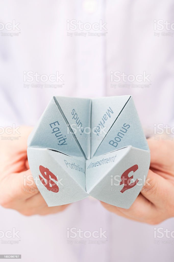 Investment currency options royalty-free stock photo