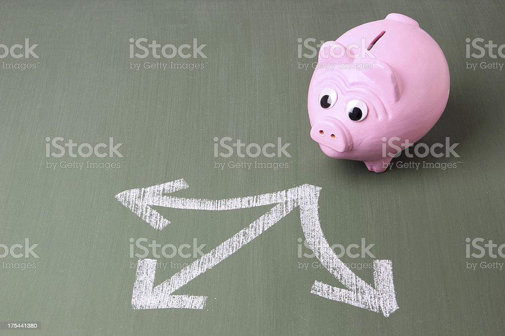 Investment Decisions royalty-free stock photo