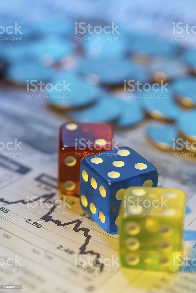 Investment Risk royalty-free stock photo