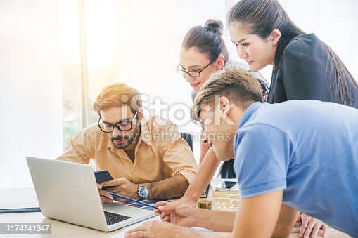 865596966istockphoto Investment theme stockmarket and finance business analysis stockmarket with digital tablet 1174741547