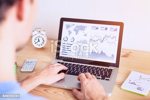 850852928istockphoto Investor analyzing online financial stock exchange graph on computer screen 849253234