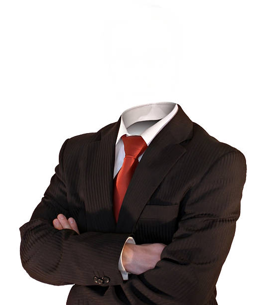 invisible business man - 被砍頭 個照片及圖片檔