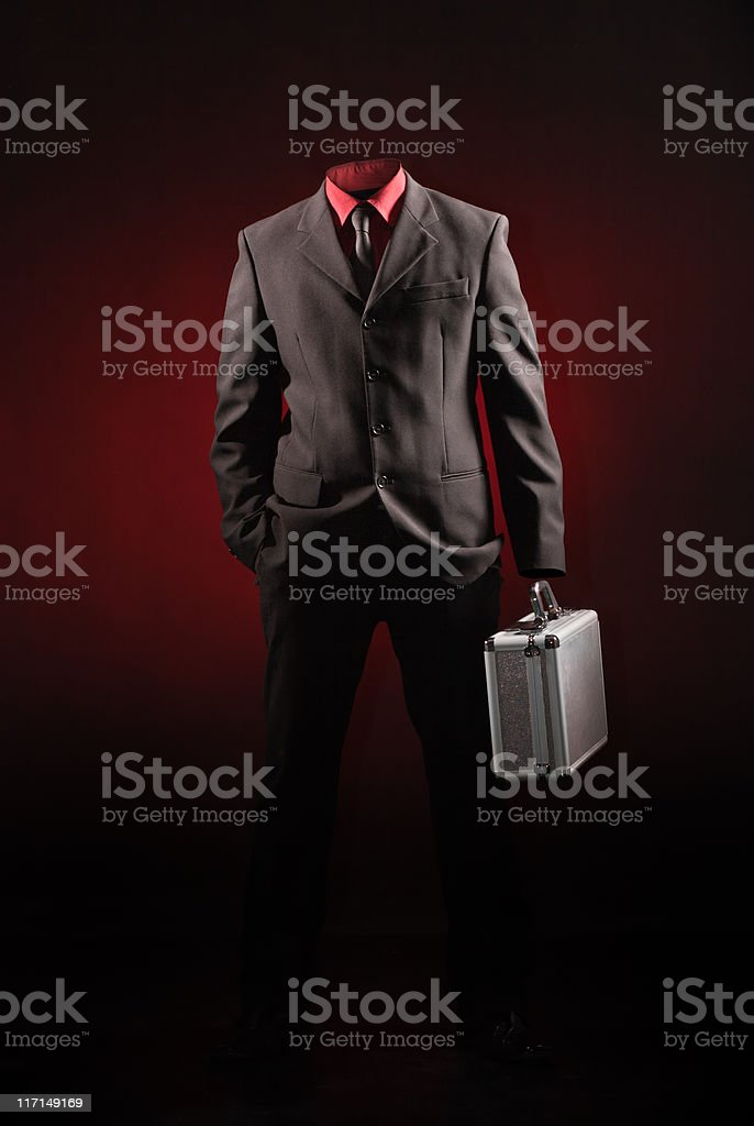 Invisible Man royalty-free stock photo