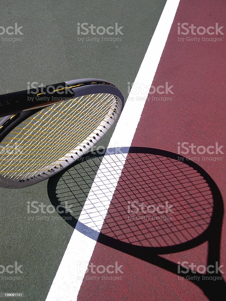 Invisible Racket royalty-free stock photo