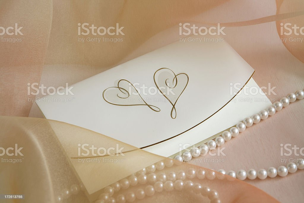 invitation card 8 royalty-free stock photo