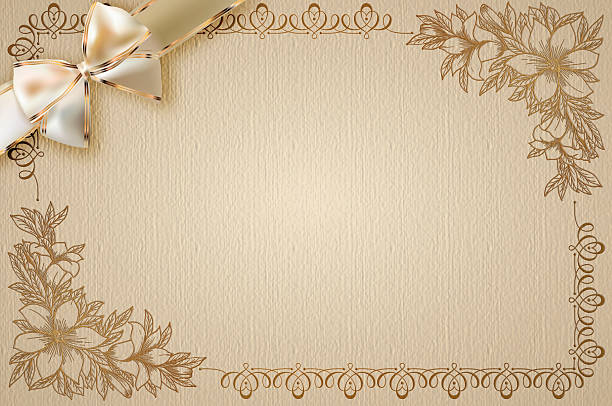 Royalty free wedding invitation pictures images and stock photos invitation card or gift card design stock photo stopboris Choice Image