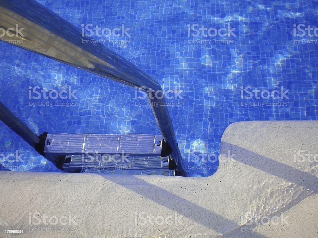 Invitation to Swim stock photo