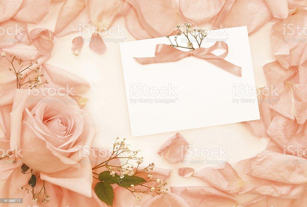 Invitation vintage card royalty-free stock photo